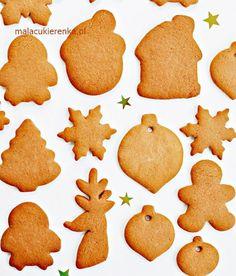 PYSZNE Pierniczki na ŚWIĘTA – Przepis – Mała Cukierenka Gingerbread Cookies, Christmas Cookies, Polish Recipes, Polish Food, Cake Recipes, Sweets, Baking, Handmade, Food Cakes