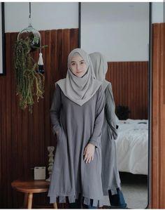 Best Ideas For Style Hijab Remaja Gemuk – Hijab Fashion 2020 Hijab Casual, Hijab Chic, Casual Dresses, Muslim Fashion, Modest Fashion, Boho Fashion, Fashion Dresses, Chic Dress, Classy Dress