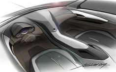 CTS Coupe Concept interior (4)