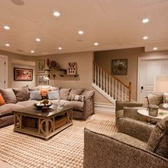 basement remodel ceiling option recessed lighting and carpet ideas ceiling accent lighting
