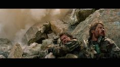 "Movie ""Lone survivor"" 2013 - Director: Peter Berg. Taylor Kitsch as Michael Murphy. W/ Mark Walberg. (Pôster)"