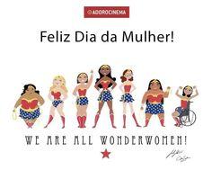 Feliz dia da mulher!