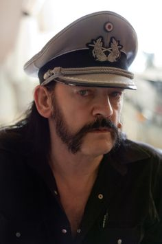 Motorhead  Lemmy Kilmister. Click through for the article. I dig him so much I want to go to SoCal and try to meet him. But....doesn't this picture look airbrushed??!!