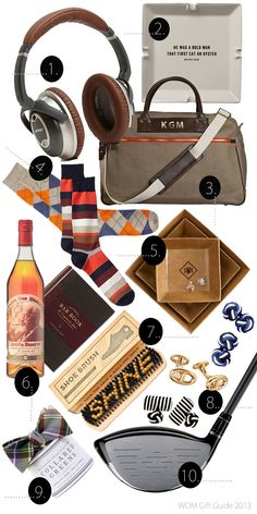 Gift Guide for the Gentleman...