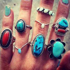 Seaing Opal Zuni Ring