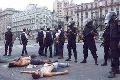 Argentina: Sentencia en la causa del 19-20 de diciembre de 2001: condenados por inútiles, no por represores.