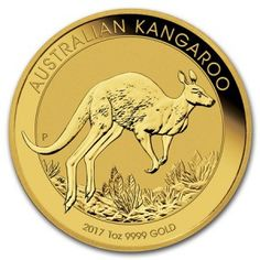 2017 Australian Kangaroo Gold Coin - The 2017 Australian Kangaroos are genuine legal tender in mintages that are strictly limited. Every year the design changes and each one is minted in one ounce of 99.99% fine gold to the highest standards of proof-like quality. Each Australian Kangaroo Gold Coin comes in a hard plastic capsule .