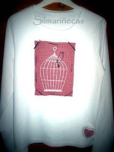 How to do a vest with drawing vintage/  Cómo hacer una camiseta con dibujo vintage