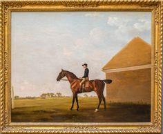 """Turf, With Jockey Up, at Newmarket,"" by George Stubbs. Credit Emon Hassan for The New York Times"