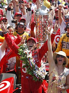 Dario Franchitti, 2012 Indy 500 Winner--What a race!!  I was there!