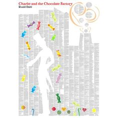 Spineless Classics - Charlie & The Chocolate Factory Poster | Peter's of Kensington