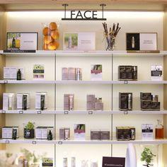 Nouvelle boutique Caudalie à  Düsseldorf en Allemagne - mobilier sur-mesure réalisé par www.elemen.fr