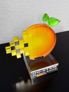 OC Stem Acrylic Trophy