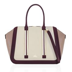Milli Millu - The Milan - As seen in InStyle - A striking, and easy leather handbag to wear. The perfect size for most laptops and A4 files.