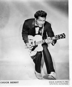 Chuck Berry:  Almost Grown, Johnny B. Goode, Roll Over Beethoven, No Particular Place to Go, Maybellene, Rock and Roll Music, Sweet Little Sixteen, Promised Land, etc...