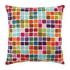 pinterest pillows | Home Goodness / Colour Squares Pillow