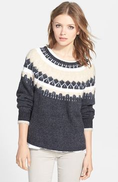 J+Brand+Ready-To-Wear+'Kasia'+Sweater+available+at+#Nordstrom