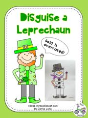 Disguise a Leprechaun! Enter for your chance to win. Disguise a Leprechaun   (13 pages) from My Book Boost on TeachersNotebook.com (Ends on on 03-07-2017) Make creative disguises for a leprechaun! He's not interested in gold! He doesn't want to spend the whole month of March sneaking away from people trying to trap him. Help him look like something else like a zebra or vase of flowers.  .