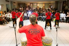 #MIDF Beyond Sound Empijah www.facebook.com/BeyondSoundEmpijah 14th Annual Muhtadi International Drumming Festival Fundraiser. Photo by Keven Arsenault Up Photograhy www.upphotography.ca — at United Steelworkers Hall.