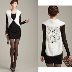 New Fashion Women's Ladies Hollow Out Sleeveless Sweater Cardigan Coat Vest Waistcoat Shawl