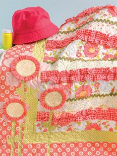 You Are My Sunshine quilt Cute Quilts for Kids by Kristin Roylance Martingale Press, 2014