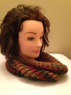 Fall Color Cowl $20.00, to order email homemadehatsandmore@gmail.com or go to my FaceBook page Homemade Hats and More By Kalli. Free Shipping in US