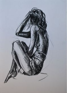 Figure drawing, Charcoal and Charcoal drawings on Pinterest