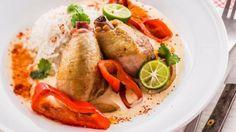 Ovenschotel van kip met paprika en Maredsous Duiveltje Pikant   VTM Koken