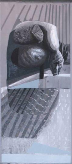 "Saatchi Art Artist Maia S Oprea; Painting, ""INSTALLATION OF DEBRIS III"" #art"