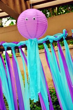 Mermaid party - Octopus decoration