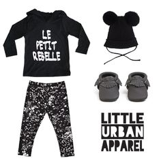 Le Petit Rebelle Hoodie outfit inspiration