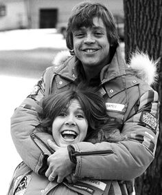 Mark Hamill and Carrie Fisher in Finse Norway esb bts 02