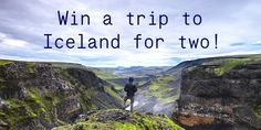 The Dohop Christmas Calendar Giveaway - Win a Trip for Two to Iceland! Hurry ends Dec. Oh The Places You'll Go, Places To Travel, Travel Destinations, Places To Visit, Rando, Win A Trip, I Want To Travel, Iceland Travel, Dream Vacations