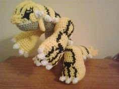 This is the next in the long list of Pokemon that a customer of mine on Etsy has requested. This pattern includes the yarn colors for mak...