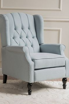 $245  BUY NOW   The button-tufted back and nail-accented arms make this an elevated pick. You'll have to assemble it yourself, but reviewers raved about the easy process.