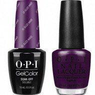 - OPI Soak-Off GelColor Gel Nail Polish + Matching Lacquer O Suzi Mio #V35 0.5 oz 15 mL Each
