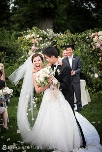 brooklyn botanical garden wedding recessional