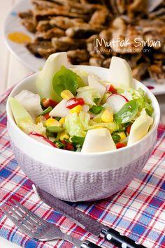Alabaş (Kohlrabi) Salatası