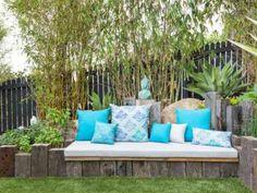 aménagement de petit jardin avec déco zen