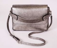 Silver 'CUBE' BAG from Holiday Collection @luchinskaya_official