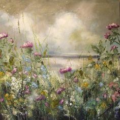 80 x 'Chasing Clouds' Sold D'art Gallery Colorful Paintings, Paintings I Love, Painting Prints, Watercolor Flowers, Watercolor Art, Crayons Pastel, Art Folder, Arte Floral, Pastel Art
