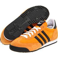 adidas dragon gris orange