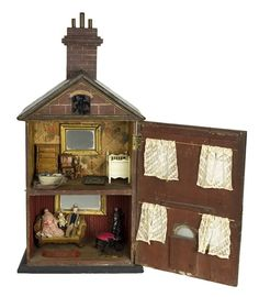 doll house antique vintage