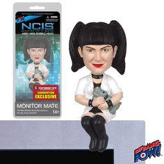 Figurine NCIS Bobble Head Abby Sciuto Computer Sitter #logostore