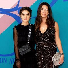#AboutLastNight Red carpet moment with the beautiful and sweet @rebeccaminkoff ! Congrats to all the nominees and recipients at last night's @cfda awards! ❤ -------- Ainda sobre ontem - tapete vermelho do @cfda com a doce e linda @rebeccaminkoff ! (Regram @exclusiveweek )