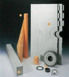 """48"""" KERDI shower kit with stainless steel grate $420"""