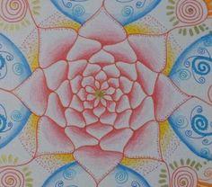 ROSE Original Mandala, by: Zoharit Rubin. $42.00, via Etsy.