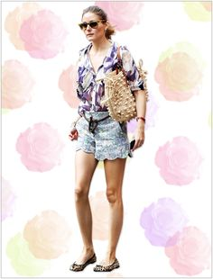 Olivia Palermo Mixed Florals