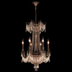 Buy the Worldwide Lighting Antique Bronze / Clear Direct. Shop for the Worldwide Lighting Antique Bronze / Clear Winchester 9 Light 1 Tier Candle Style Crystal Accent Chandelier and save. Round Chandelier, Chandelier Lighting, Chandeliers, Winchester, Candelabra Bulbs, Light Bulb Types, Bronze Finish, Light Decorations, Clear Crystal