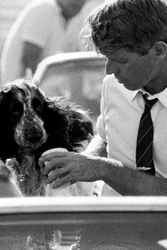 Bobby Kennedy and Freckles